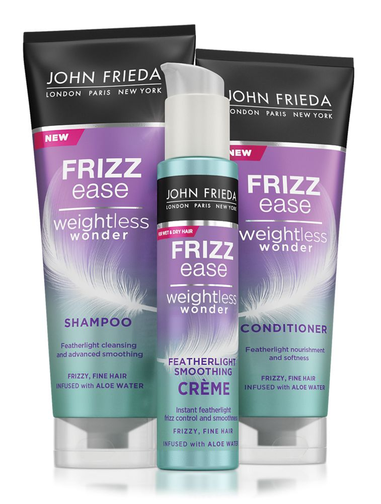 Our Best Products For Fine And Frizzy Hair John Frieda